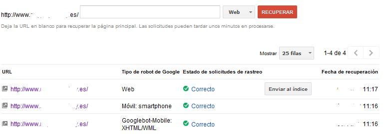 Explorar como Googlebot-Mobile de Google