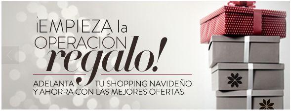 Adelántate al shopping navideño