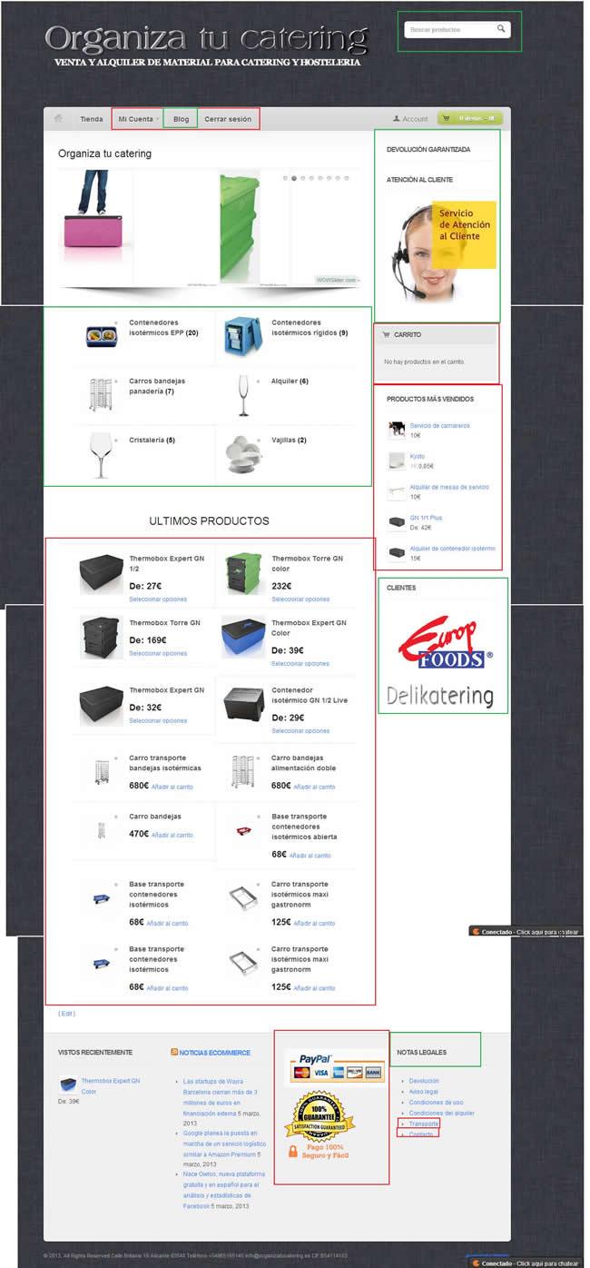 Home de tienda Online Optimizada_caso práctico