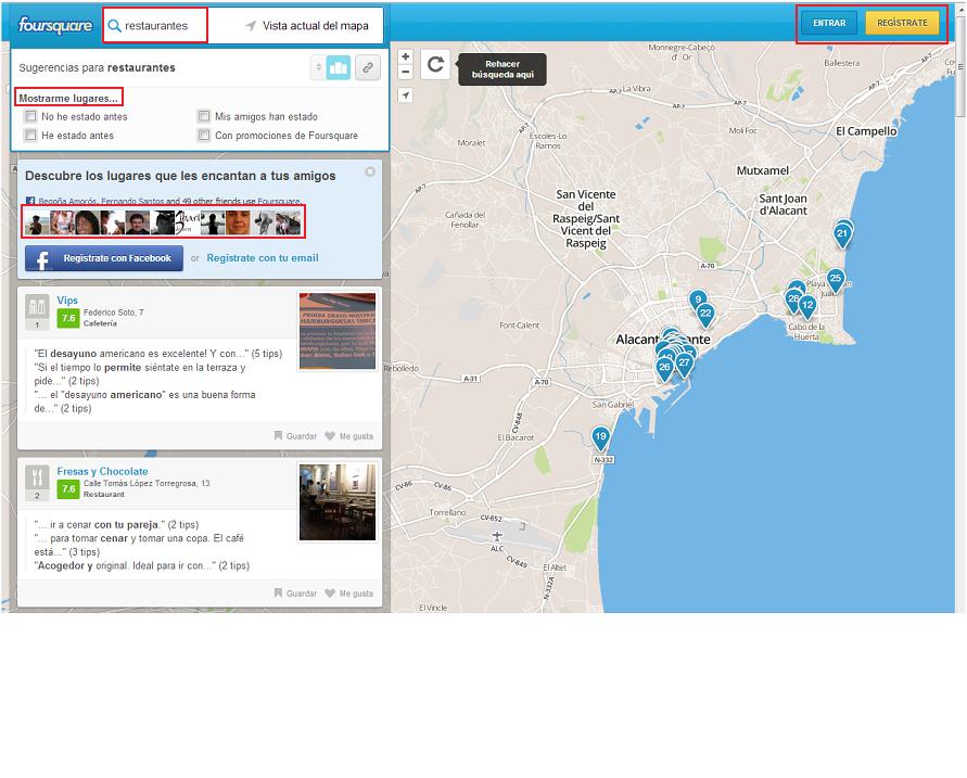 seo local y foursquare mejora tu geolocalización comercial