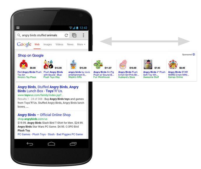 Google Shopping mejora la visualización de productos en móviles