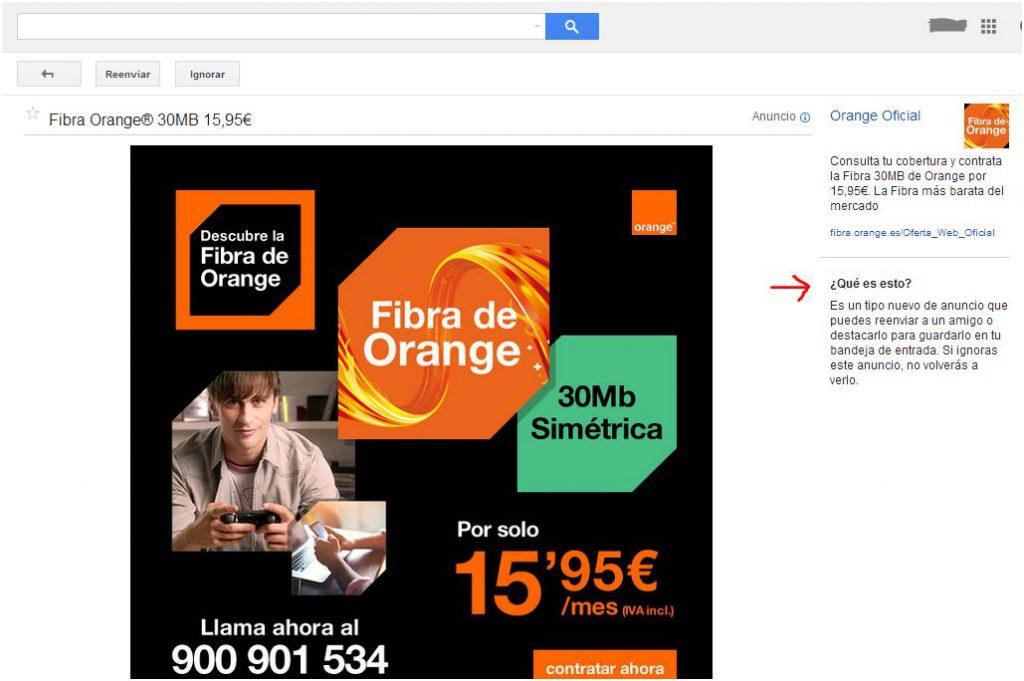 Los Nuevos Anuncios en Gmail son virales