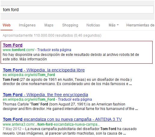 experiencia de usuario y usabilidad en marcas de moda como Tom Ford