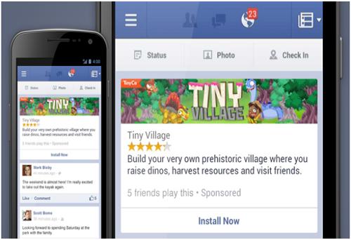 Facebook Mobile App Install Ads