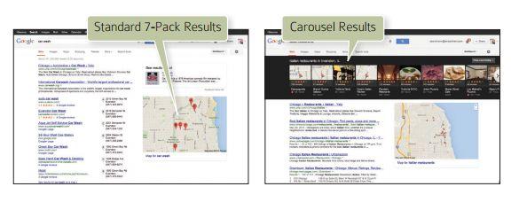 Google Local y Google Carousel